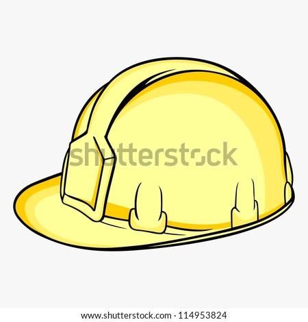Construction Helmet - stock vector