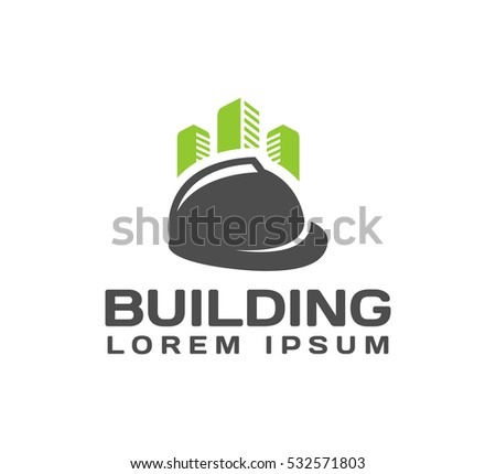 Engineering, Architecture Logo. House, Real Estate, Construction
