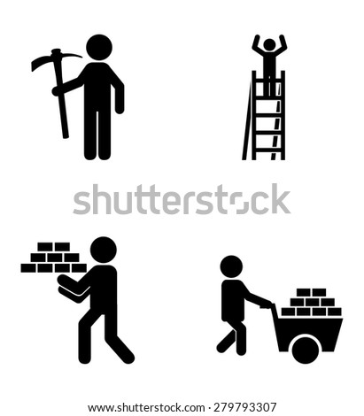 construction icons design, vector illustration eps10 graphic