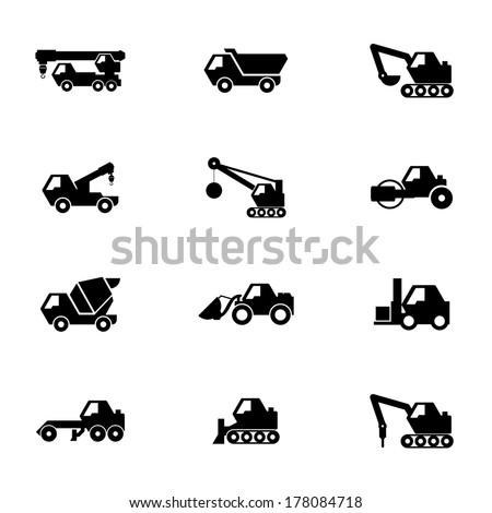 Construction set - stock vector