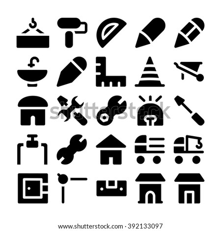 Construction Vector Icons 9