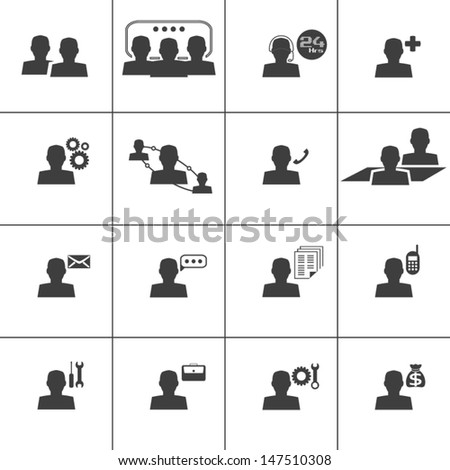 Contact and Information web icon,Vector illustration