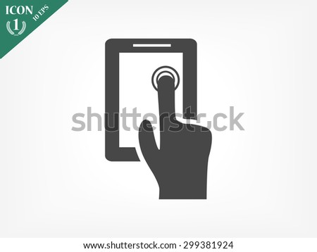 Contact us icons  - stock vector