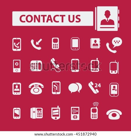 contact us icons