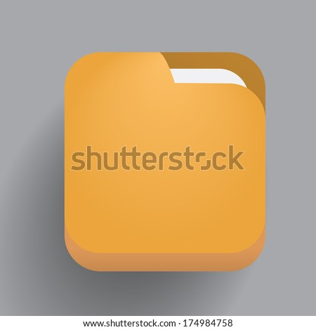 Contemporary technology art - flat data icon. VECTOR illustration. - stock vector