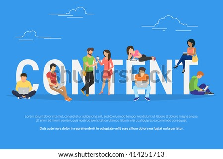 Content that people