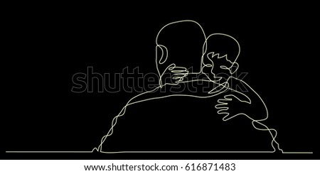 Line Drawing Boy : Sketch of girl and boy kiss sketches couples