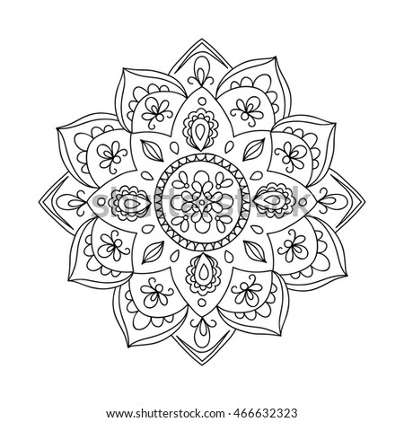 Perfect For Yoga Logo Oriental Decoration Anti Stress Therapy