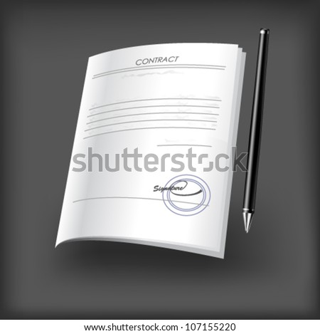 Contraction icon. Vector - stock vector
