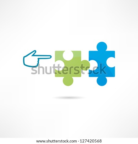 Contribution icon - stock vector