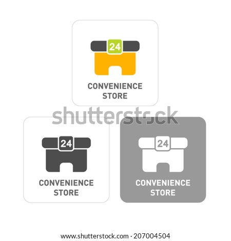 Convenience Pictogram Icons  - stock vector