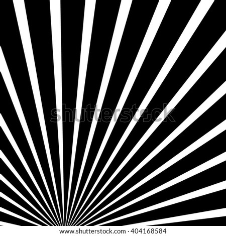 Converging, radiating lines abstract background. Centric bursting lines, stripes. Starburst, sunburst graphic
