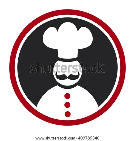 Cook icon - stock vector