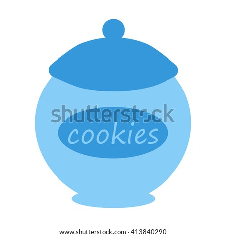 Cookie jar icon.