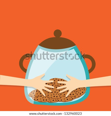 Hand Cookie Jar Stock Images Royalty Free Images