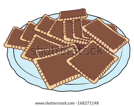 cookies, illustration
