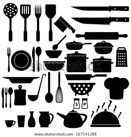 Cooking Icons Set - stock vector