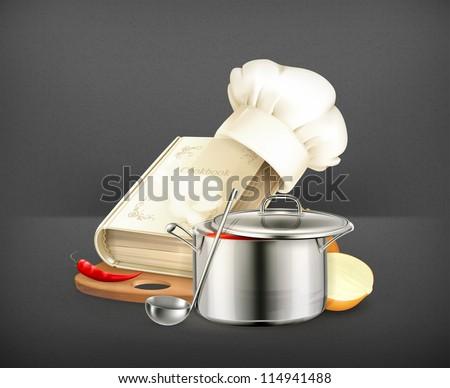 Cooking vector - stock vector