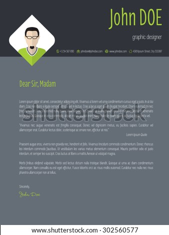 Resume Cover Letter Stock Images, Royalty-Free Images & Vectors ...