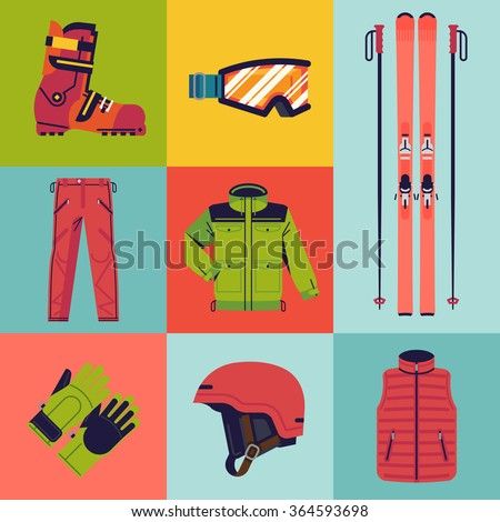 Ski jacket stock images royalty free images vectors for Ski designhotel