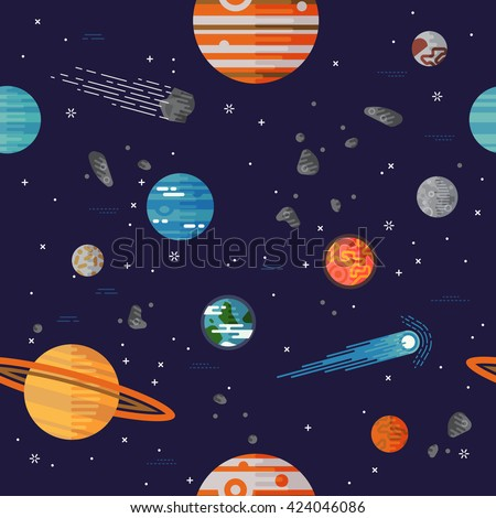 galaxies planets and stars cartoons - photo #18