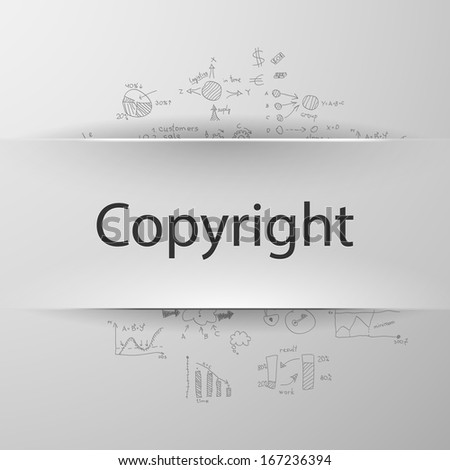 Copyright - stock vector
