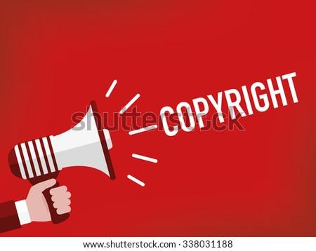 Copyright - stock vector