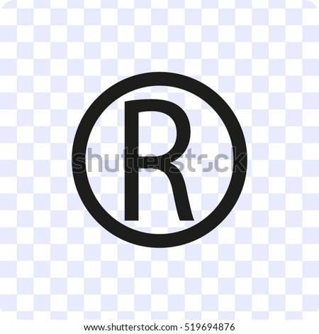 Copyright Icon Vector Illustration Stock Vector 519694876 Shutterstock