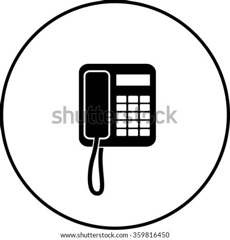 Telephone Symbol Stock Illustration 62550532 - Shutterstock
