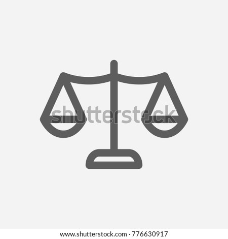 Core Values Honesty Icon Line Symbol Stock Vector Royalty Free