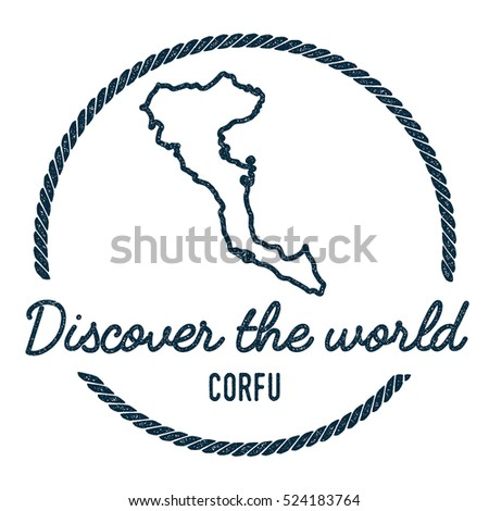 Corfu map vintage discover world rubber vectores en stock 534495112 corfu map outline vintage discover the world rubber stamp with corfu map hipster style gumiabroncs Choice Image