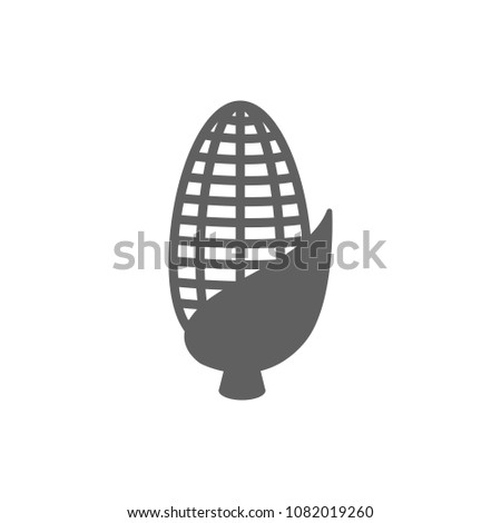 Corn Icon Vector Symbol Your Web Stock Vector 1082019260 Shutterstock