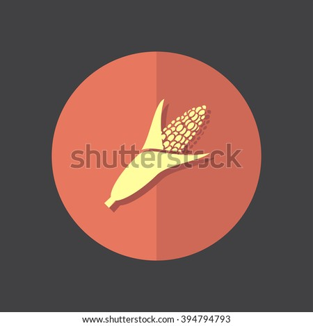 corn vector icon