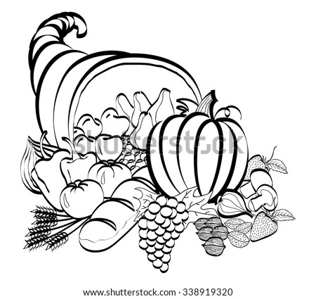 Cornucopia Stock Images, Royalty-Free Images & Vectors ...