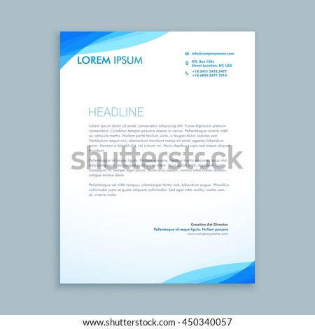 Letterhead Stock Images, Royalty-Free Images & Vectors | Shutterstock