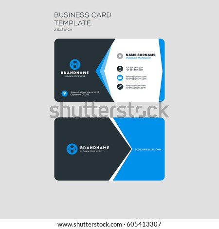 Visiting Card Design Stock Images, Royalty-Free Images & Vectors