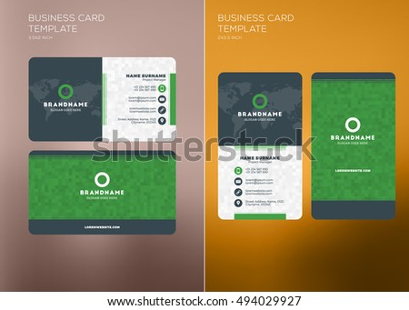 id card template stock images royalty free images vectors shutterstock. Black Bedroom Furniture Sets. Home Design Ideas