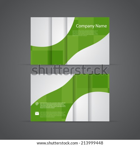 Corporate Business Cards Set. - stock vector
