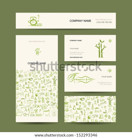 Corporate business style design: shirt, labels, mug, bag, cards