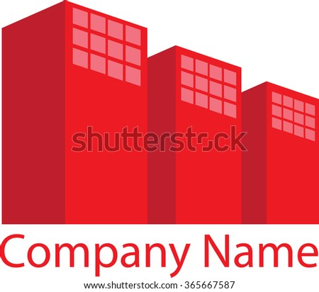 Corporate House Real Estate Logo
