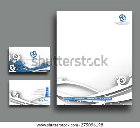Corporate Identity Template. Vector illustration - stock vector
