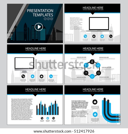 corporate presentation vector template business presentation stock, Powerpoint templates