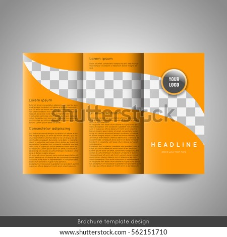 Tri Fold Business Brochure Stock Images RoyaltyFree Images - Tri fold business brochure template