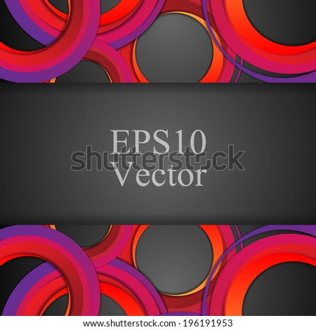 Corporate vector abstract background. Elements for design. Eps10