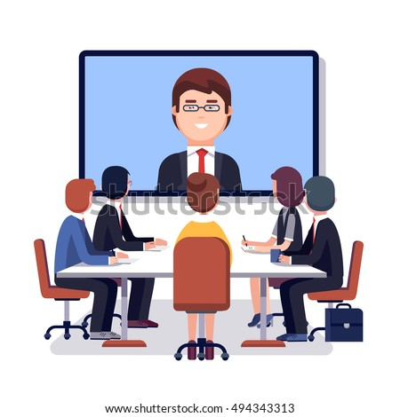 Meeting Stock Vectors, Images & Vector Art | Shutterstock