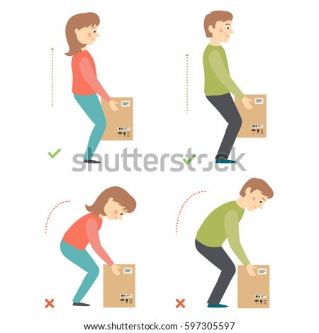 Lifting Boxes Stock Images, Royalty-Free Images & Vectors ...