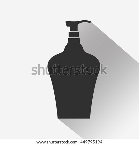 Cosmetic bottle icon - Vector