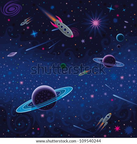 Cosmic Seamless Pattern