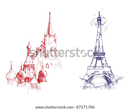 countries - stock vector