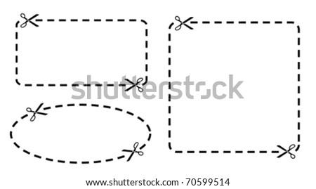 Coupons set - stock vector